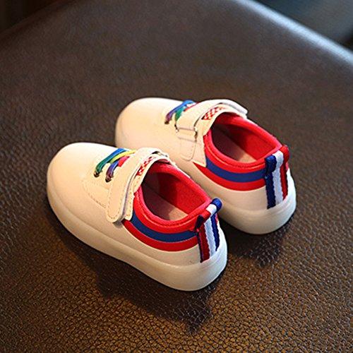 Led Desporto Piscando Sapatos De Em Crianças Colorido Sapatos Luzes Sapatos Jovem Esportes De Sapatos Levaram Chickwin De Crianças Vermelho Zq5aaPxw