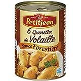 Petit jean 6 quenelles de volaille sauce forestière 400g - Prix Unitare - Livraison Gratuit Sous 3 Jours