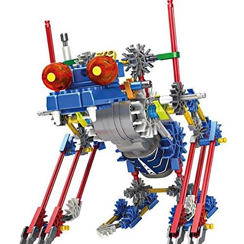 Roboter Bausatz Block Spielzeug, Batterie Motor betrieben, 3D Puzzle Design Alien Primate Robot Figur für Kinder und Erwachsene, Robotik Gebäude setzt Wissenschaft Spielzeug für Kinder (DA20)