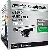 Rameder Komplettsatz, Dachträger WingBar für Ford Grand C-MAX (114454-08996-2)
