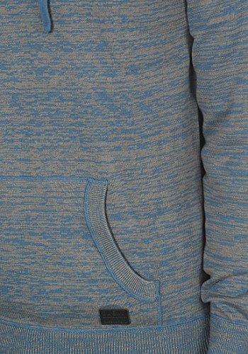 BLEND Sammy Herren Kapuzenpullover Strickpullover Hoodie Ensign Blue (70260)