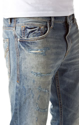 Tom Tailor Denim Herren Straight Leg Jeans Jeans long slim straight 1193