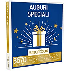 Idea Regalo - smartbox - Cofanetto Regalo - Auguri Speciali - 3670 esperienze a Scelta tra soggiorni, attività Wellness, di Gusto o Svago