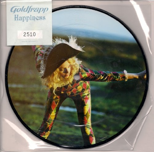 Goldfrapp Happiness Picture Disc PVC sleeve sealed numbered (2510) UK 45 7