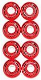 Hyper 4er 8er Set Formula-G Flex Hockey Rollen 76mm/78A Inliner Skates 18-N6