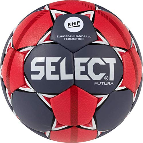 Select Handball Futura, grau/rot/weiss (2)