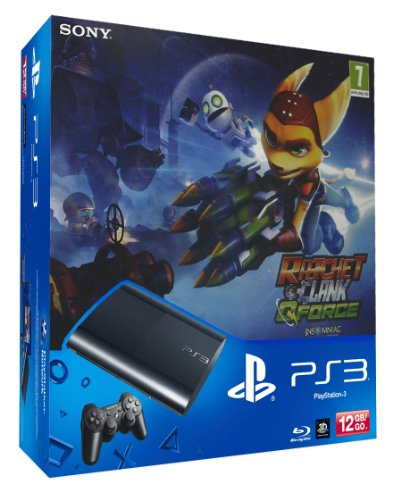 PlayStation 3 - Consola 12 Gb + Ratchet & Clank Q-Force