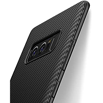 Spigen Coque Note 8 [Liquid Crystal] Ultra Fine Premium TPU, Absorption du Choc, Transparente
