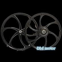 Dixi bicicleta eléctrica orientada dc motor integrado/cassette Free Hub/(Motor de cubo de rueda/Integrated magnisium motorizado Rueda)
