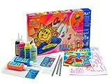 Hobby Line 42845 - Glas Design Set mit 6 Farben und 3 Klangstäben Klangstäbe Mobile