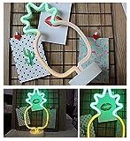 LED Nacht Licht Nacht Tisch Lampe Neonschild Stimmungslichter Dekor Neonleuchte für Weihnachten Geburtstagsfeier Kinderzimmer Party Wohnzimmer Decor (Ananas) für LED Nacht Licht Nacht Tisch Lampe Neonschild Stimmungslichter Dekor Neonleuchte für Weihnachten Geburtstagsfeier Kinderzimmer Party Wohnzimmer Decor (Ananas)