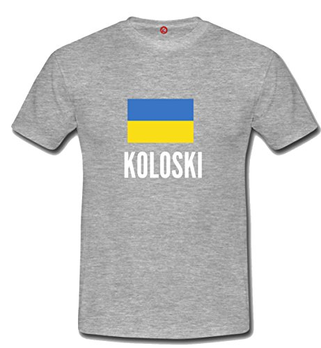 T-shirt Koloski city grigia