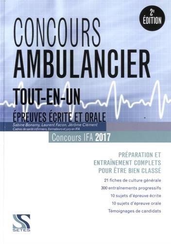 Concours ambulancier tout-en-un 2017