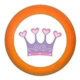 'Poignée de meuble Couronne Violet Bois Enfants Chambre d'enfant fille 1Rêve Enfant