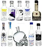 Vodka Probierset - 10 verschiedene Vodka