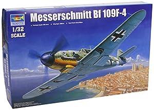 Trumpeter 05776 ME BF 109 F-4 - Caza a escala Importado de Alemania