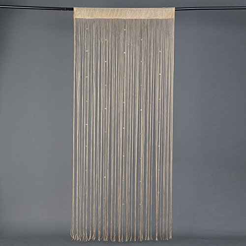 hongfei Dekorative Tür String Vorhang mit Perlen Quaste für Wand Panel Fringe Fenster Raumteiler Quaste Bildschirm Party Home & Wedding Decor - Dekorative Bildschirme Als Raumteiler