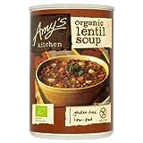 Amy's Kitchen Sopa de Lentejas 411gr (Paquete de 6)