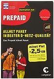 congstar Allnet Paket [SIM, Micro-SIM und Nano-SIM] - Das Prepaid Paket für Vieltelefonierer in bester D-Netz-Qualität inkl. 10 EUR Startguthaben. Prepaid-Aktion: Prepaid-Karte bestellen & 10 GB Datenvolumen für 30 Tage sichern.