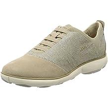 Scarpe Geox NEBULA Donna Scarpe Scarpe Basse Sneaker Blu Nuovo