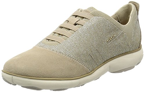 Geox D Nébuleuse C Chaussures Femme Beige (taupe Lt), 39