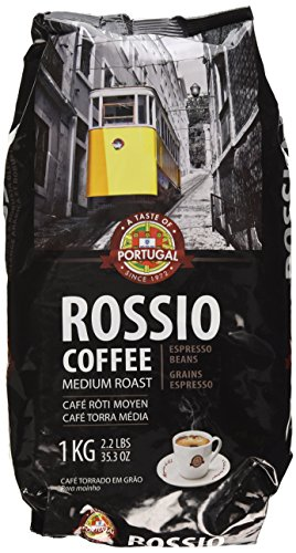 1KG - Taste Of Portugal - Rossio Coffee Medium Roast - Espresso Beans - 1KG Test