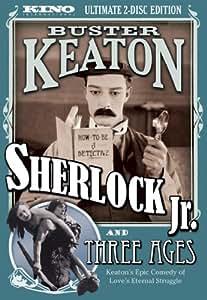Sherlock Jr & Three Ages [DVD] [1923] [Region 1] [US Import] [NTSC]