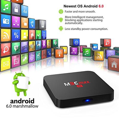 Bqeel-Android-Box-S905X-Quad-Core-M9C-MAX-2GB16GB-eMMC-Android-60-Vrai-4K-WiFi-H265-DLNA-Miracast-HD