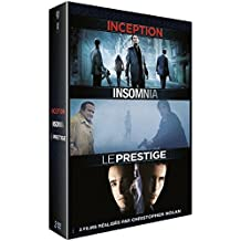 Coffret christopher nolan : inception ; insomnia ; le prestige