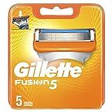 Gillette Männer Fusion5 Rasierklingen, 1er Pack (1 x 5 Stück)