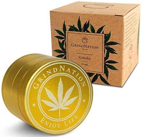GrindNation Premium Grinder ø 55mm | Aluminium