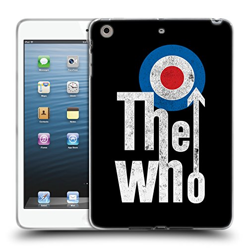 Head Case Designs Offizielle The Who Klassisches Target Logo Band Kunst Soft Gel Hülle für iPad Mini 1 / Mini 2 / Mini 3