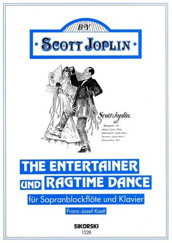 The Entertainer + Ragtime Dance. Sopranblockflöte, Klavier