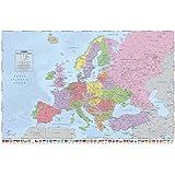 Carte politique de l'Europe , 92x61