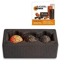 Preisvergleich für Blackroll Orange (Das Original) - BLOCK mit blackBALL-orange 8 cm & TwinBALL-orange 8 cm inkl. Übungsbooklet