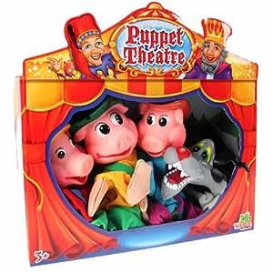 Marionnettes 3 petits cochons