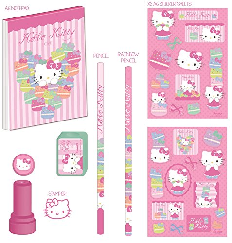 Image of Hello Kitty Stamp and Scribble Set