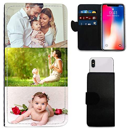 i-Tronixs Schutzhülle/Brieftaschen-Hülle für Mobiltelefone (15,2 cm / 15,2 cm), personalisierbar, mit Foto & Chrom-Schlüsselanhänger, Archos Sense 50x (5