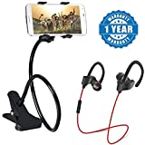 Captcha presents the latest Universal Long Lazy Flexible Mount Mobile Holder with Snake Style Stand.One of the best inventions, the mobile bed stand holder is a multipurpose mobile accessory that enables you to watch movies, browse the intern...