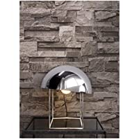 Steintapete Vliestapete Braun , Schöne Edle Tapete Im Steinmauer Design ,  Moderne 3D Optik Für Wohnzimmer