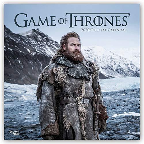 Game of Thrones 2020 - 16-Monatskalender: Original Stürtz-Kalender [Mehrsprachig] [Kalender] (Wall-Kalender) par  Hbo