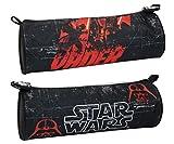 Star Wars Federtasche Clone Wars Schlamperrolle schwarz rund