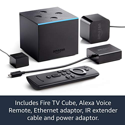 51c IRquD3L. SS500  - Fire TV Cube | Hands free with Alexa, 4K Ultra HD streaming media player