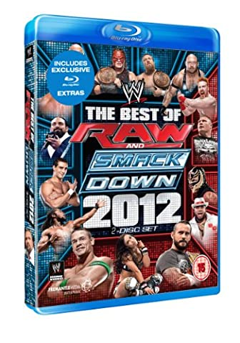 Wwe-The Best of the Raw + Smackdown 2012 [Blu-ray] [Import anglais]