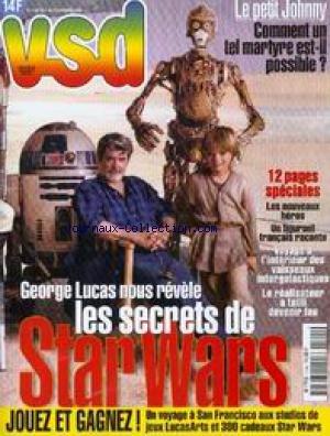VSD [No 1154] du 07/10/1999 - STAR WARS - GEORGE LUCAS - LES NOUVEAUX HEROS - LE PETIT JOHNNY - MARTYR. par Collectif