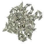 Baoblaze 50x Engel Motiv DIY Charm Anhänger Schmuck Herstellung Basteln für Halskette
