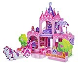 Melissa and Doug Pink Palace 3D Puzzle, Multi Color