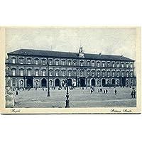 Primi '900 Napoli Palazzo reale foto retro FP B/N ANIM Cartolina Postale - Foto Cartolina Postale