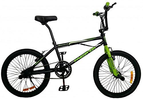 20' Zoll BMX Freestyle Fahrrad Predator von 2Fast4You, Farben:schwarz-grün