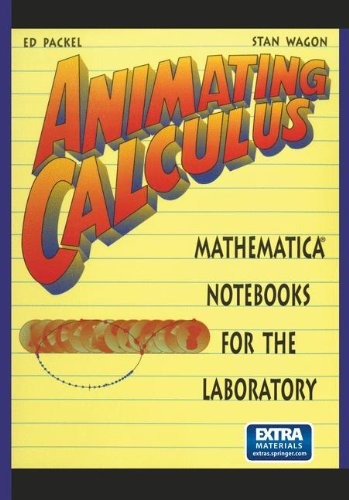 Animating Calculus par Ed Packel